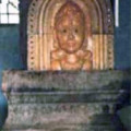 Shree Brahmara in front of the Temple