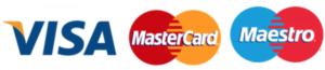VISA Mastercard Maestro